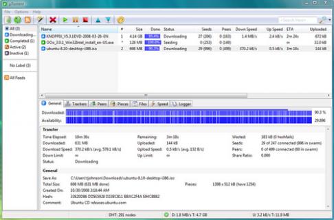 Télécharger uTorrent ( gratuit )