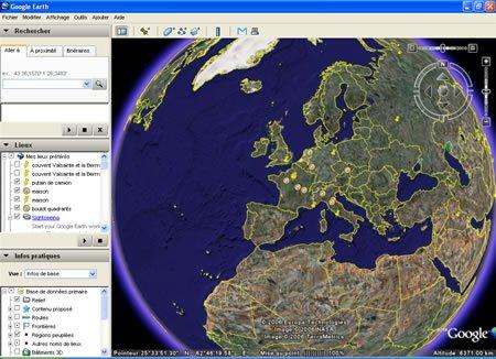 ⇩ Télécharger Google Earth 6.0.1.2032 bêta (gratuit )
