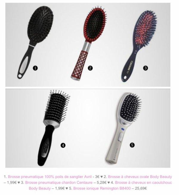 les types de brosses adaptation types de cheveux blog. Black Bedroom Furniture Sets. Home Design Ideas