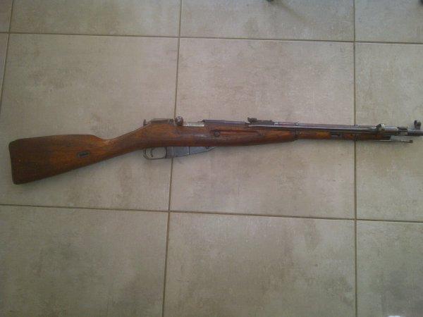 Carabine Mosin Nagant Mdl 1944 (neutra)