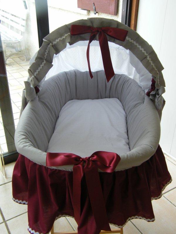 couffin lohannie en osier pour un vrai b b blog de poupounette76125. Black Bedroom Furniture Sets. Home Design Ideas