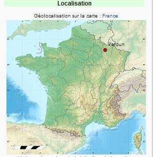 Bataille De Verdun Localisation De Verdun Blog De Artois1418