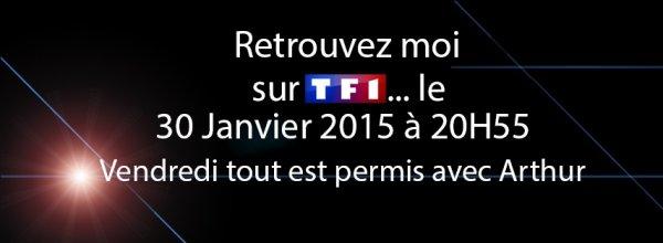 Cyril sur TF1 dans Vendredi tout est permis