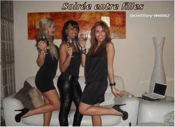 soir e entre filles chez st phanie le 16 01 2011 secretstory web062. Black Bedroom Furniture Sets. Home Design Ideas