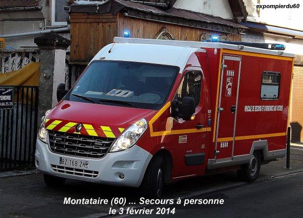 MONTATAIRE (60) ... V.S.A.V 01 CREIL ... S.D.P ... LE 3 FEVRIER 2014