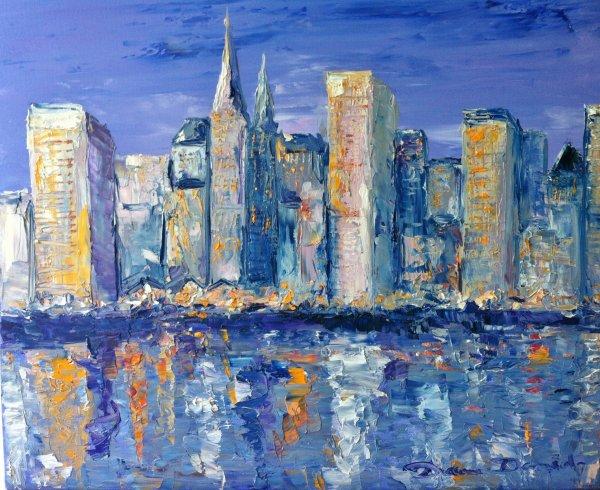 Articles de art et passion tagg s peinture de new york la peinture le dessin mes passions - Peinture au couteau huile ...