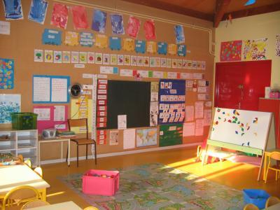 Blog de ciperc jaune blanc rose vert le journal de mon ecole - Decoration classe petite section ...
