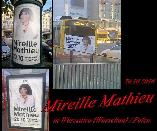 """Mireille Mathieu                    """"Diverses ......  Aktuelles und gestern im TV"""""""