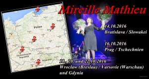 Mireille Mathieu ..... ab heute auf Tour .......