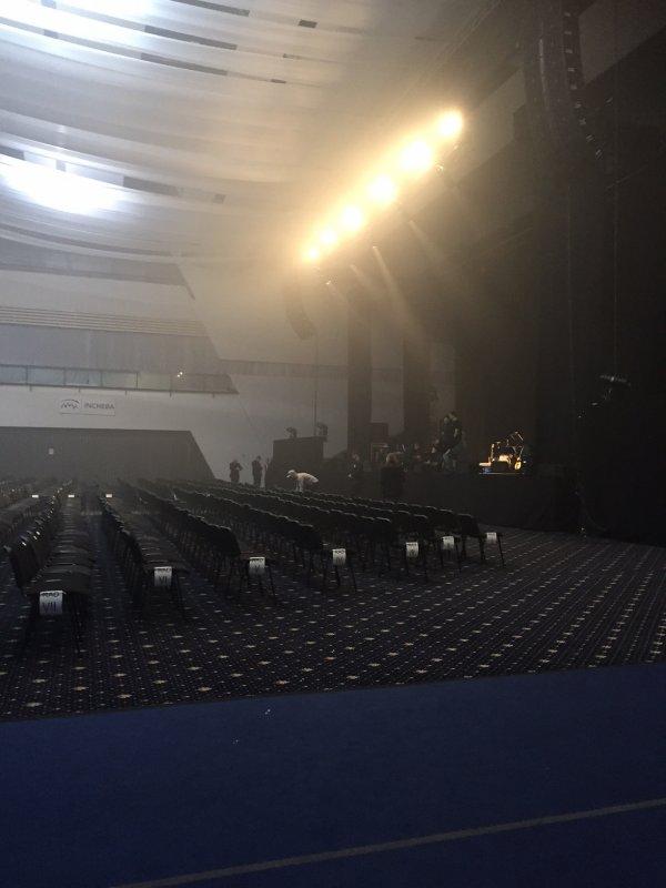 Mireille Mathieu in Bratislava................ Vor dem Konzert