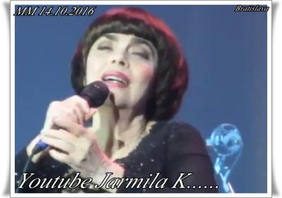 Mireille Mathieu in Bratislava................ Erste Videos....