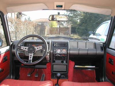 Int rieur renault 5 alpine voitures tuning et de collection for Renault super 5 interieur
