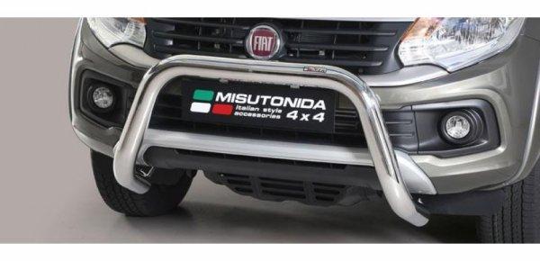 SUPER BAR INOX et M�dium Bar Inox pour  FIAT FULLBACK 2016+