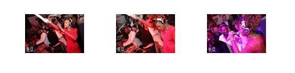 Rihanna au club LIV hier