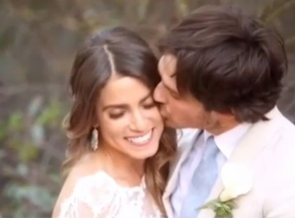 VIDEO Ian Some�rhal�der (Vampire Diaries) et Nikki Reed (Twilight) : la vid�o de leur mariage