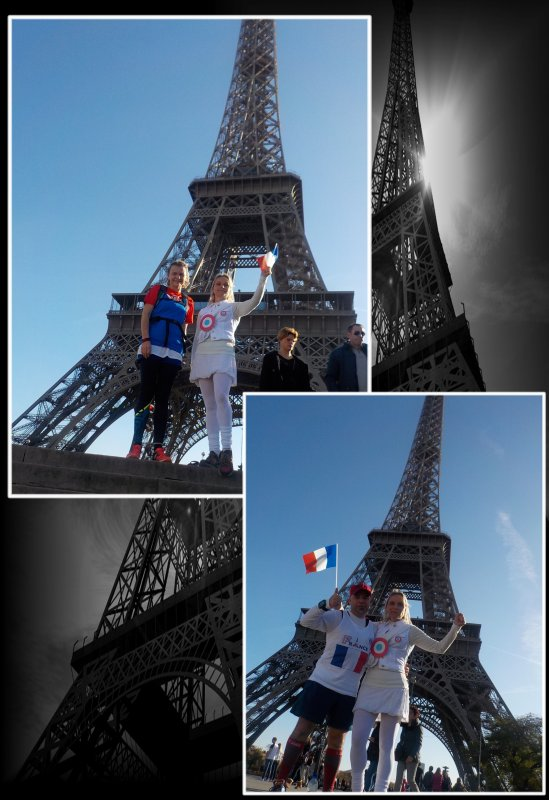 Footing Paris en Bleu, Blanc, Rouge ..�pisode 2..