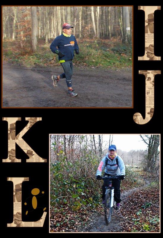 L'alphabet de notre premier footing 2016 ...