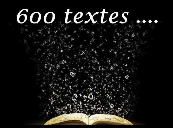 1992 - 2016 : Plus de 600 textes