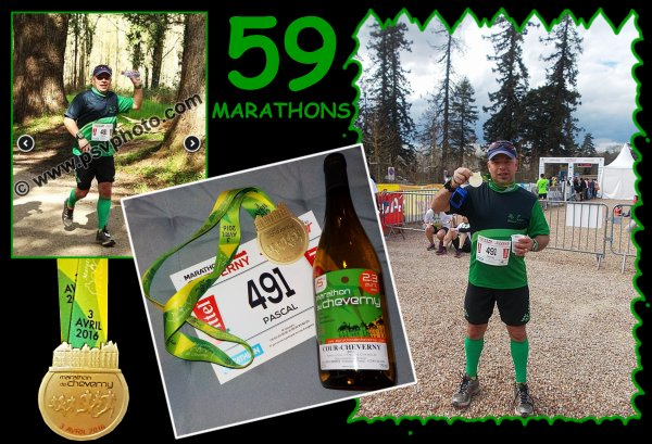 Marathon de Cheverny 2016 ...L'apr�s course  ...