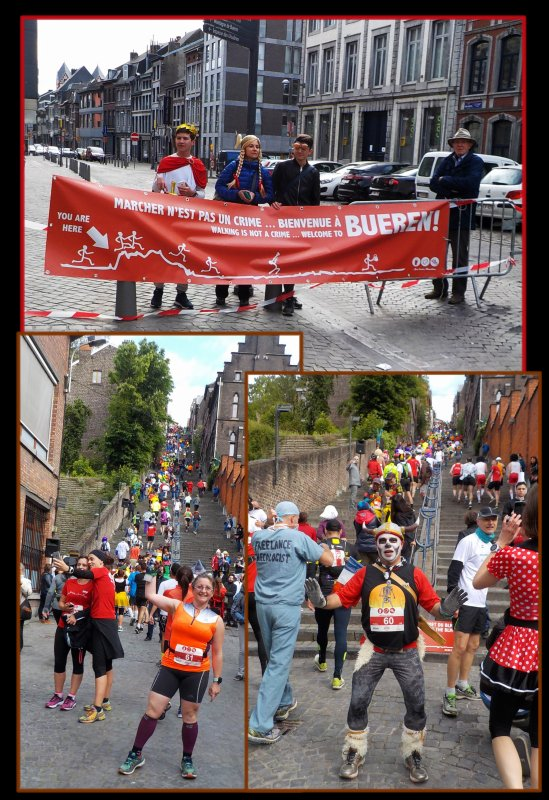 Beer Lover's Marathon de Li�ge 2016 : la course km 0 � 7