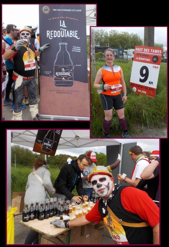 Beer Lover's Marathon de Li�ge 2016 : la course km 8 � 23.