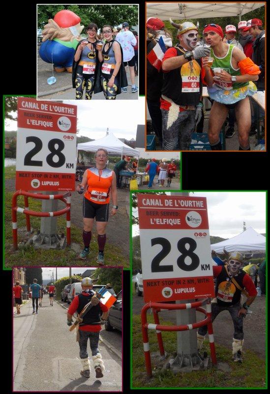 Beer Lover's Marathon de Li�ge 2016 : la course km 24 � 37