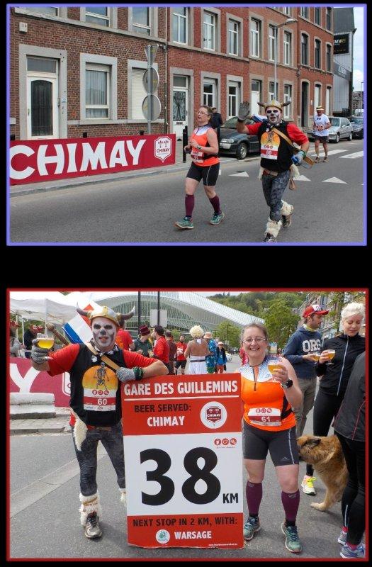 Beer Lover's Marathon de Li�ge 2016 : la course km 38 � 42, 195... et fin