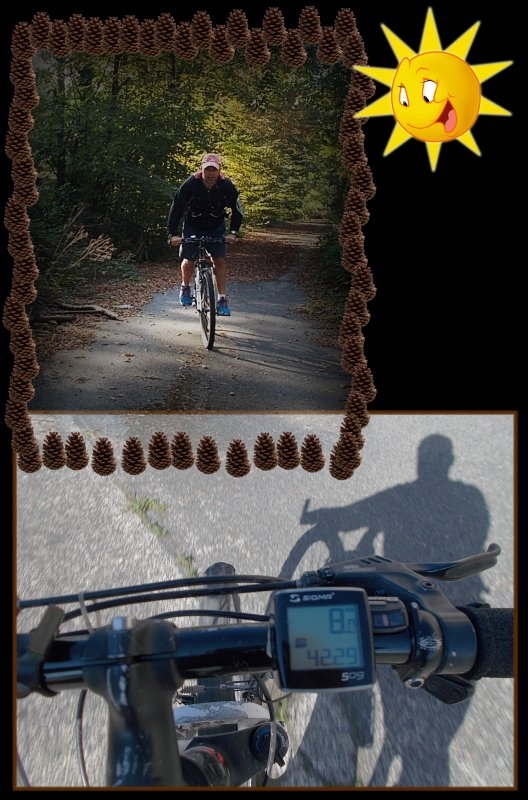 Le samedi au soleil, mon marathon en 2 roues !