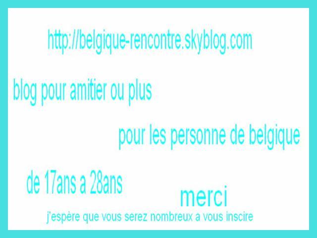 Rencontre blog skyrock