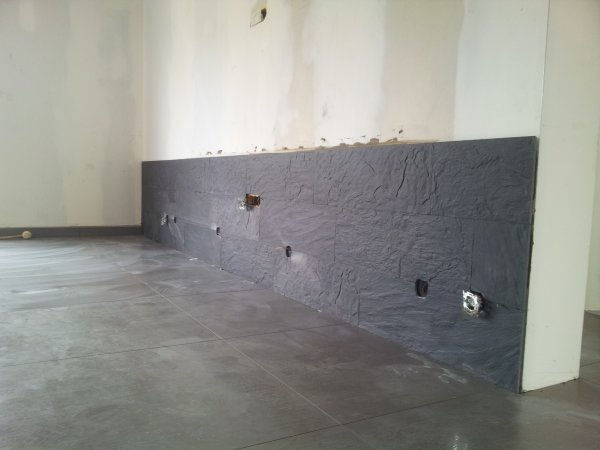 carrelage salon mur. Black Bedroom Furniture Sets. Home Design Ideas