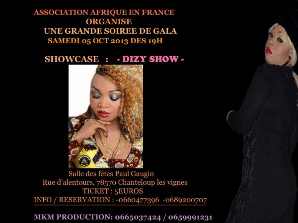 DIZY SHOW - SHOWCASE