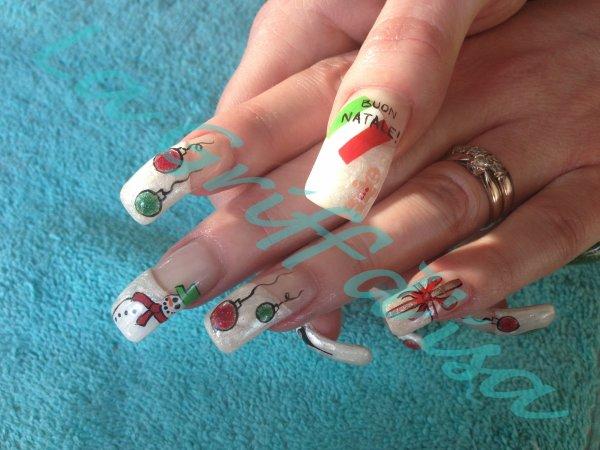 nail art italien