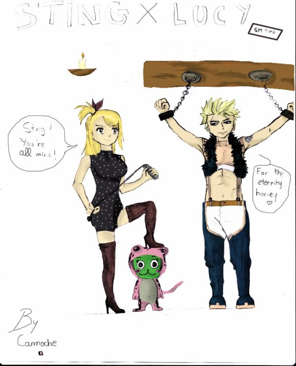 Dessin StingLu (Sting x Lucy)