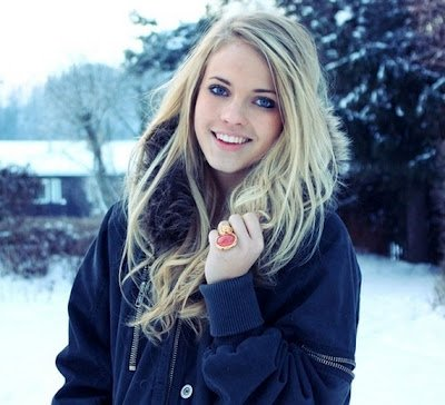 Emilie voe nereng , a beautiful norwegian girl!