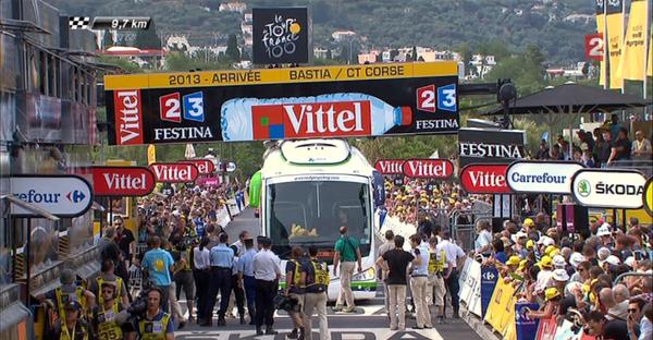 Tour de France - �tape 1 : un final mouvement�, Kittel � l'arriv�e
