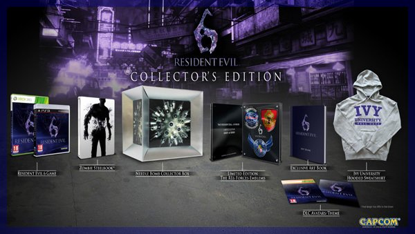 News n� 1 : L'�dition collector Resident Evil 6
