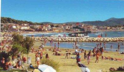plage de Bonnegrace à Six Fours,même patronyme que mes ancêtres Marguerite Bonnegrace.