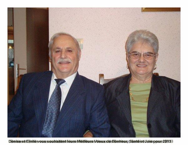 jour de nos 75 et 80 ans tous les deux nés le même jour.