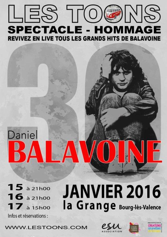 HOMMAGE À BALAVOINE 15 16 17 JANVIER 2016