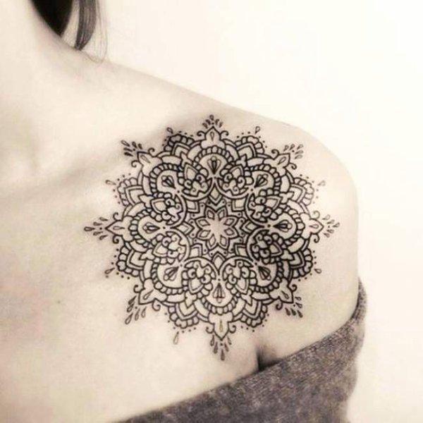 Tatouage mandala homme signification - Signification tatouage arbre ...