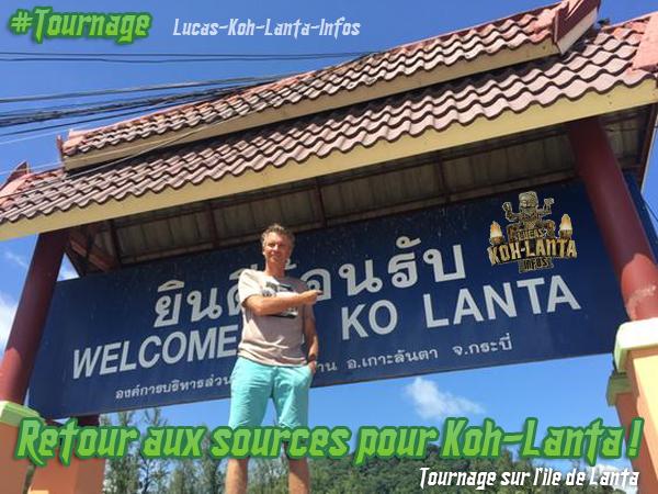 #TOURNAGE: Retour aux sources sur l'ile de Lanta !
