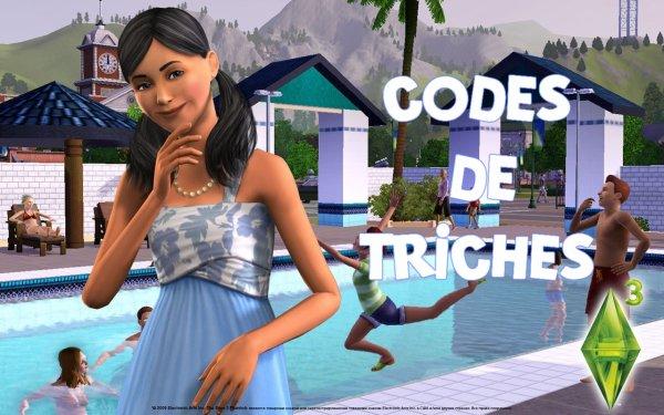 Codes triche pour les Sims 3 (PC) - Blog - Trucs & Astuces