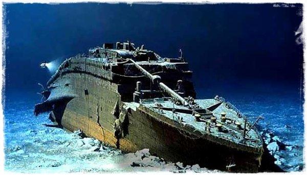 Le 1 septembre 1985 : la premi�re image du Titanic est retransmise par la cam�ra sous-marine Argo