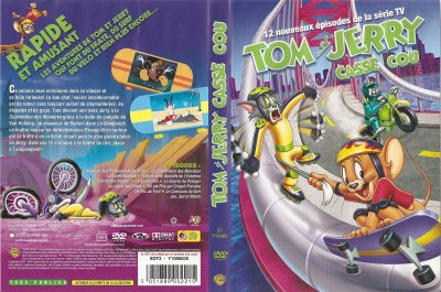 "DVD ""TOM ET JERRY CASSE COU"""