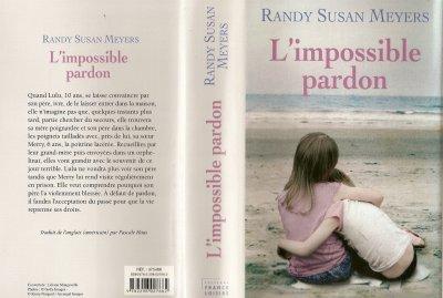 """LIVRE """"L'IMPOSSIBLE PARDON"""""""