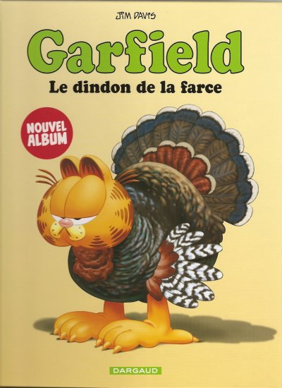 "BD GARFIELD "" LE DINDON DE LA FARCE"""