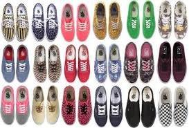 Vans Shoes Pour Fille