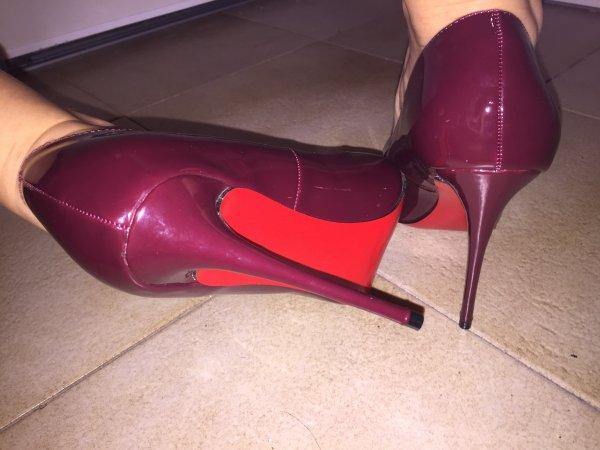 suite mes nouveaux escarpins