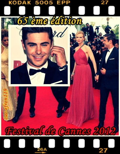 Cannes 2012 : Zac Efron sur la Croisette ( Jeudi 24 Mai 2012 )