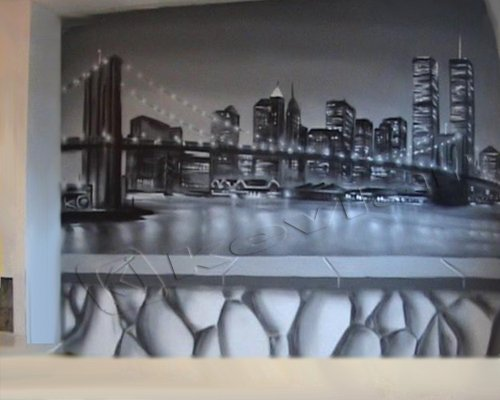 Chambre ambiance new york realspray d coration Decoration new york chambre